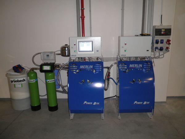 Vysokotlaký systém instalace